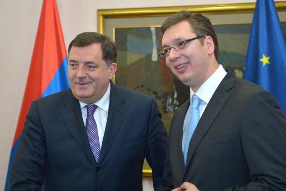 Vučić: Nećemo se mešati u izbore u Republici Srpskoj