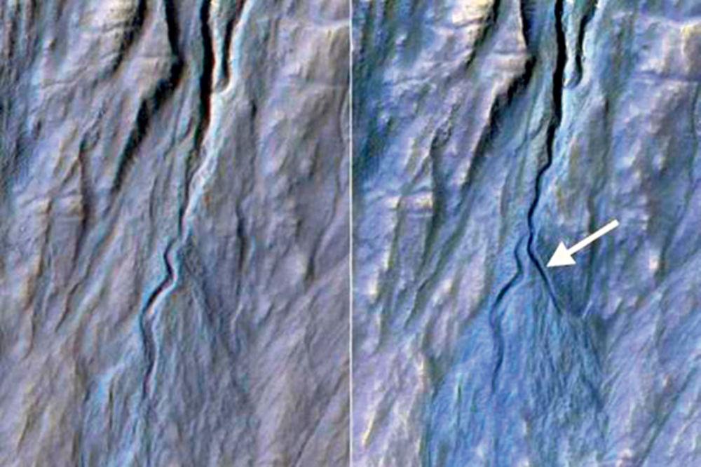 Novo korito na Marsu