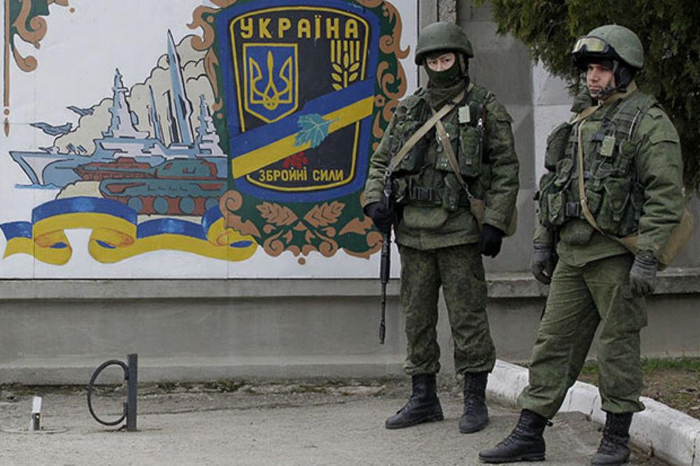 POROŠENKO SPREMA NAPAD NA KRIM: Gomilanje vojske i oklopnih vozila na rusko-ukrajinskoj granici!
