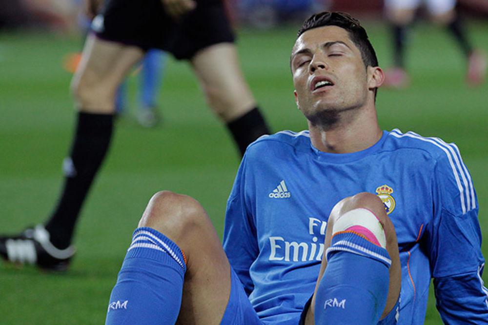 RONALDO POVREĐEN: Real bez Portugalca protiv Sosijedada