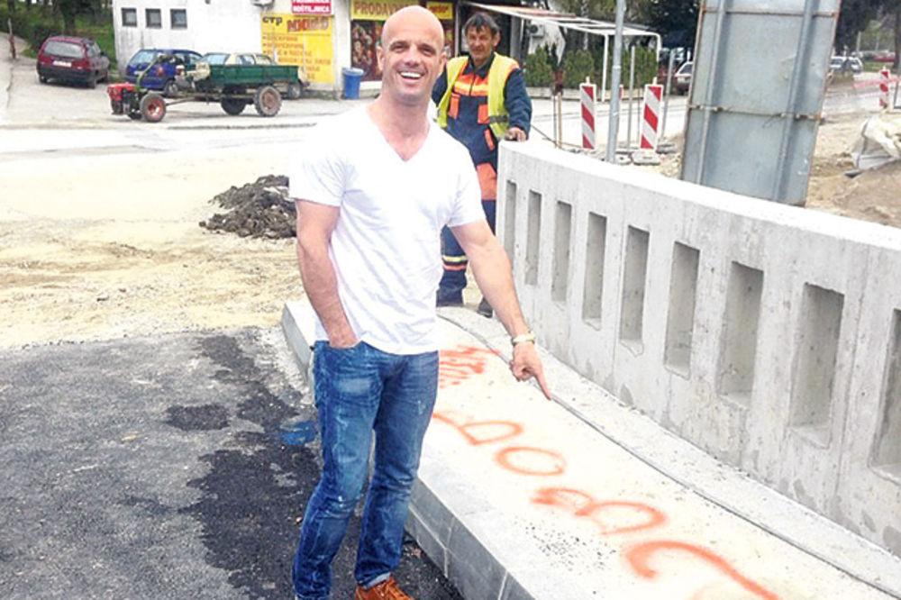 Boban Rajović prvi overio most!