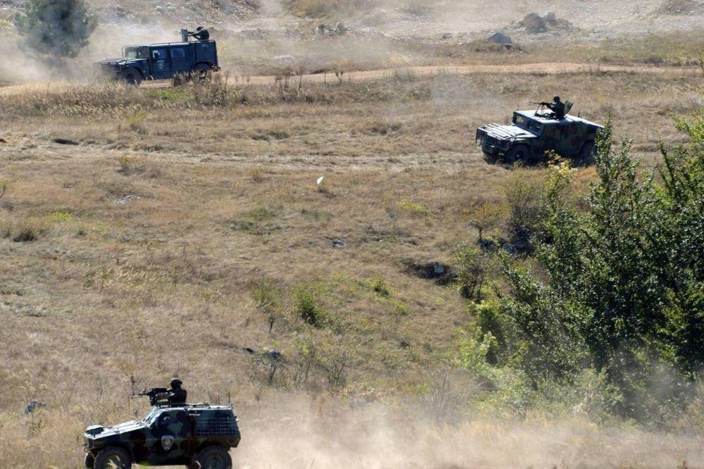 ZIMA 2015: Vojska Srbije vežbala na Pasuljanskim livadama