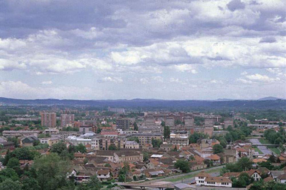NOVA KATAKLIZMA: Valjevo pogodio pljusak, grad i mini tornado!
