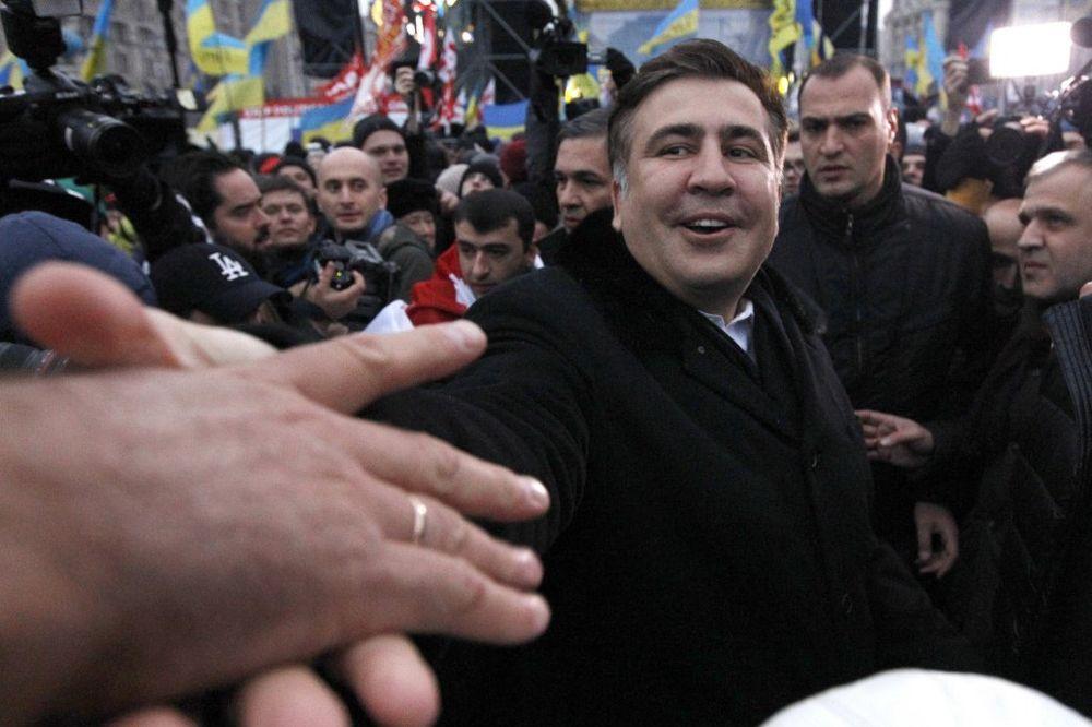 NE DAJU LICE S POTERNICE: Kijev neće da izruči Gruziji Mihaila Sakašvilija