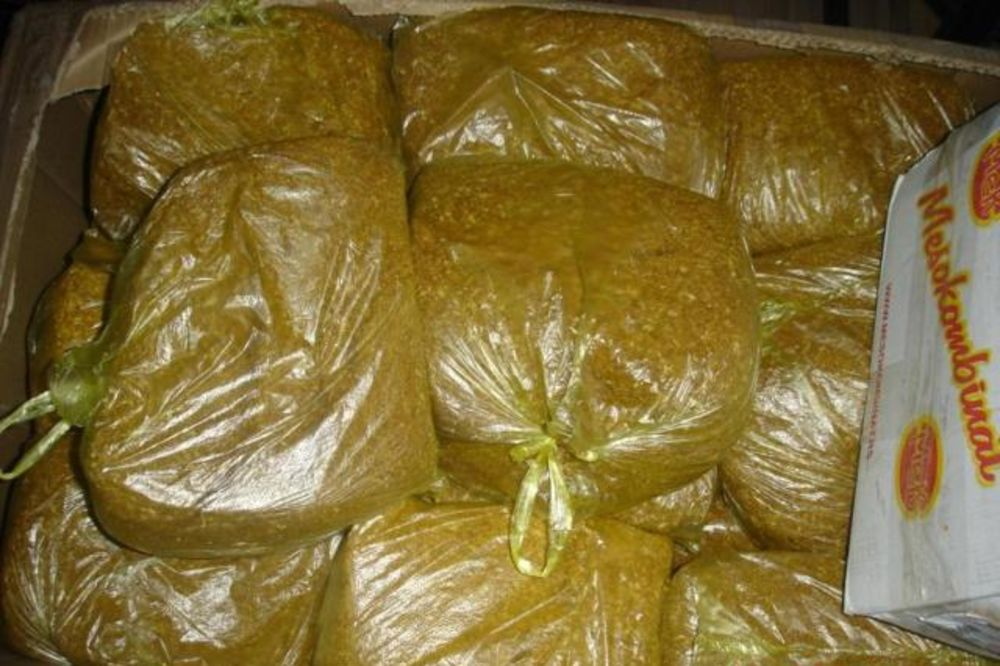Carinici zaplenili 117 kilograma duvana kod Vranja