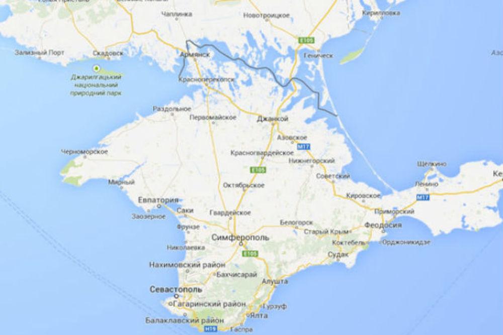 Samo Za Ruse Gugl Objavio Mapu Na Kojoj Je Krim Deo Ruske Federacije