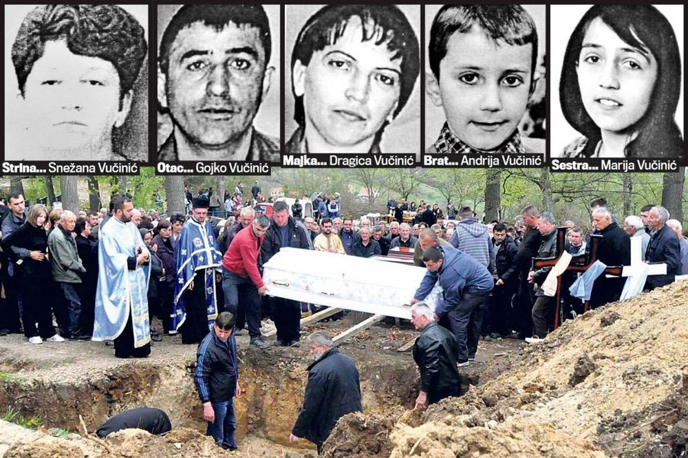 ZANEMELA VUČA: I sveštenici zaplakali nad grobom Vučinića!
