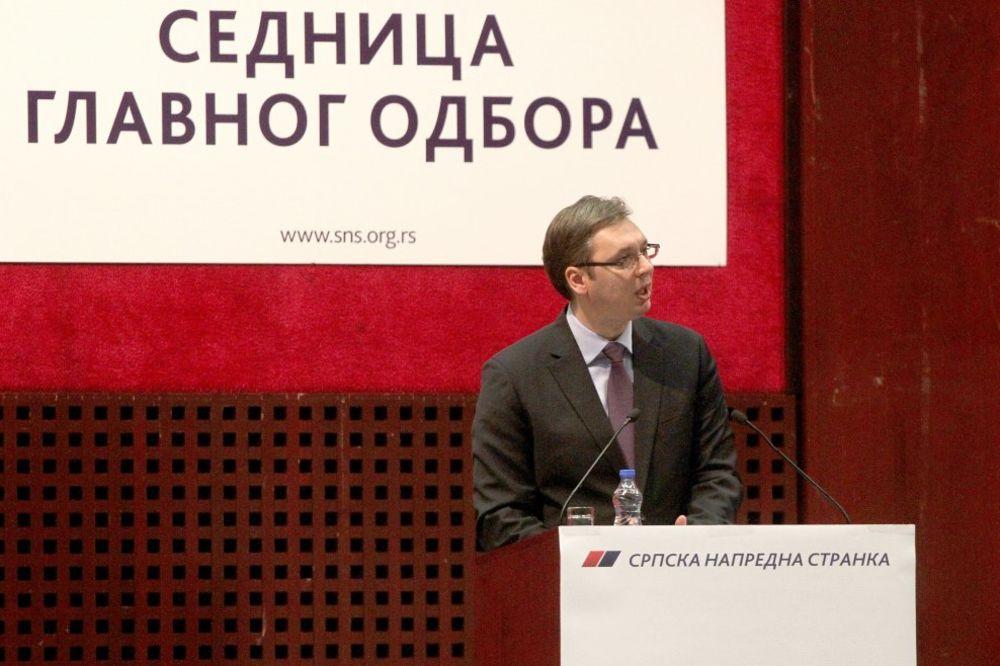 Danas u Sremskoj Mitrovici sednica Glavnog odbora SNS