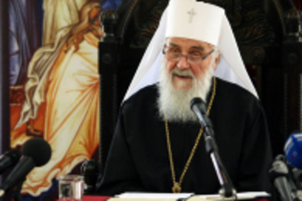 SVEČANOST U PAKRACU: Patrijarh Irinej na ustoličenju vladike Jovana