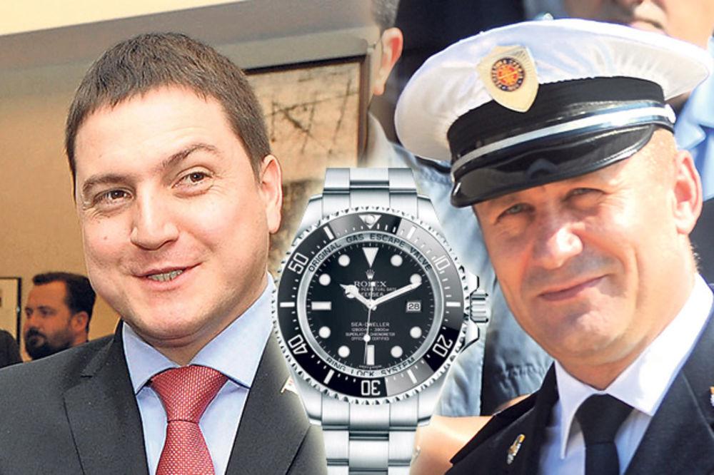 Branko Ružić, Dragiša Simić, roleks, tizer foto kurir