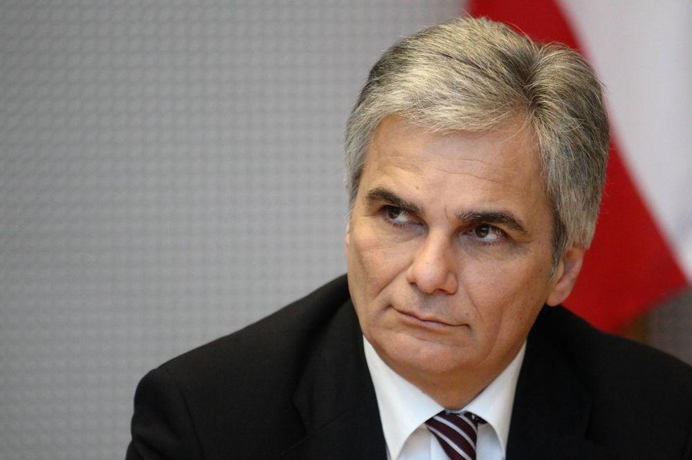 AUSTRIJSKI KANCELAR: Nisam za širenje sankcija protiv Rusije, ne radujem se što joj privreda propada