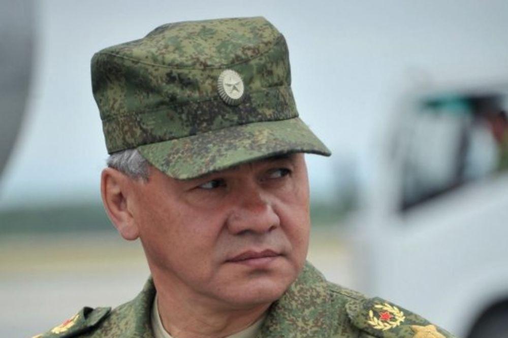 Sergej Šojgu: Rusija počinje vežbe duž granice s Ukrajinom Foto Fonet/AP