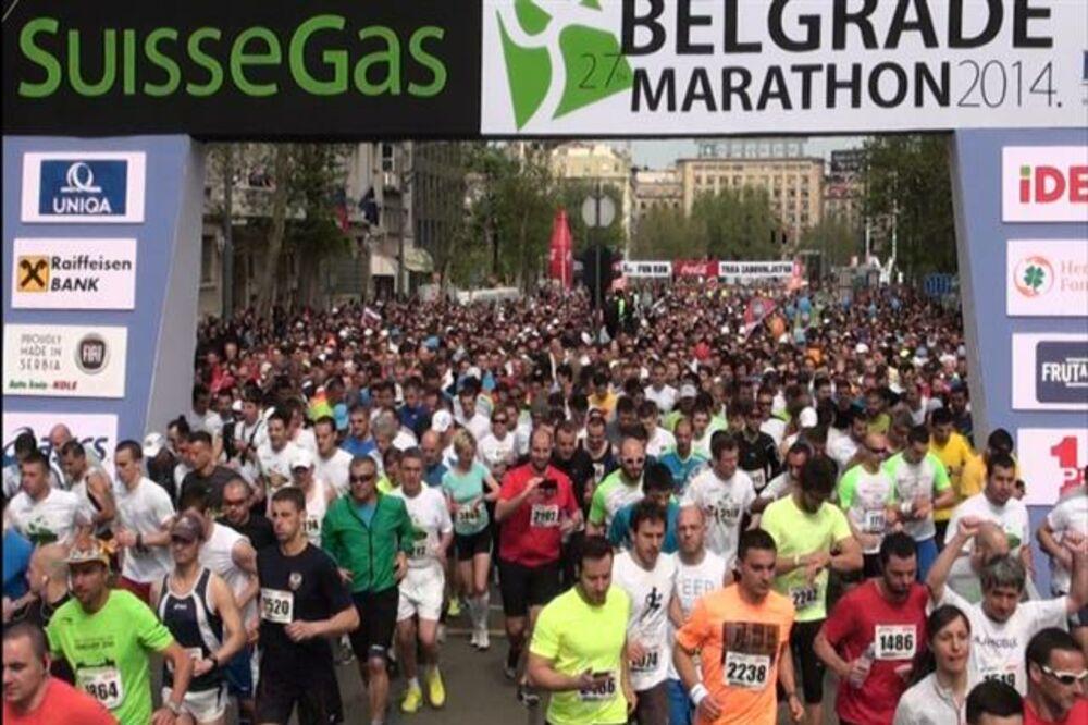 BLOG UŽIVO: Beogradski maraton obara rekord po broju učesnika