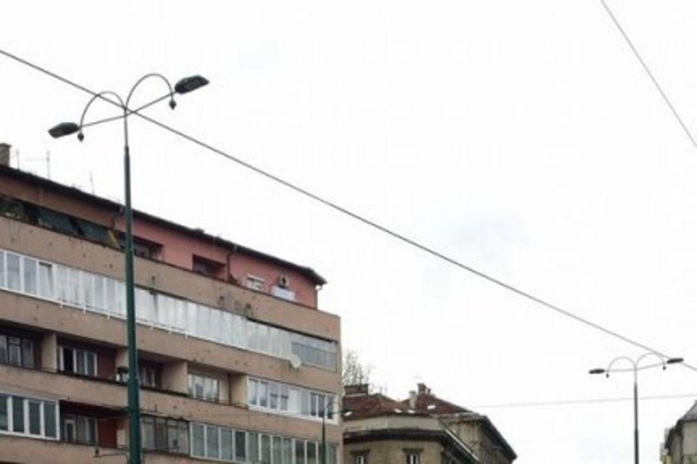 (FOTO) PROVOD U SARAJEVU: Sara Trajanović se ne odvaja od Cecinog brata!