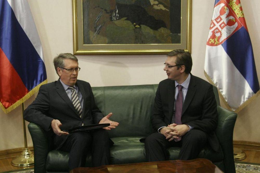Vučić danas s ruskim ambasadorom Čepurinom