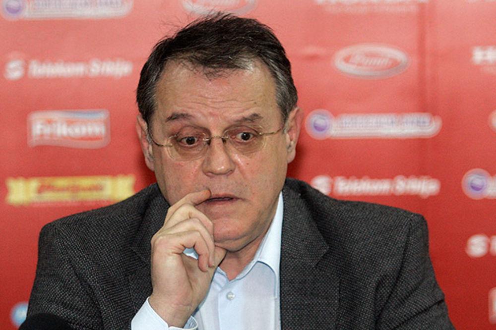 ČOVIĆ OPET OPTUŽUJE: Hajku na Zvezdu iz FIBA vodi Radović, a u nju se upetljao i Bodiroga