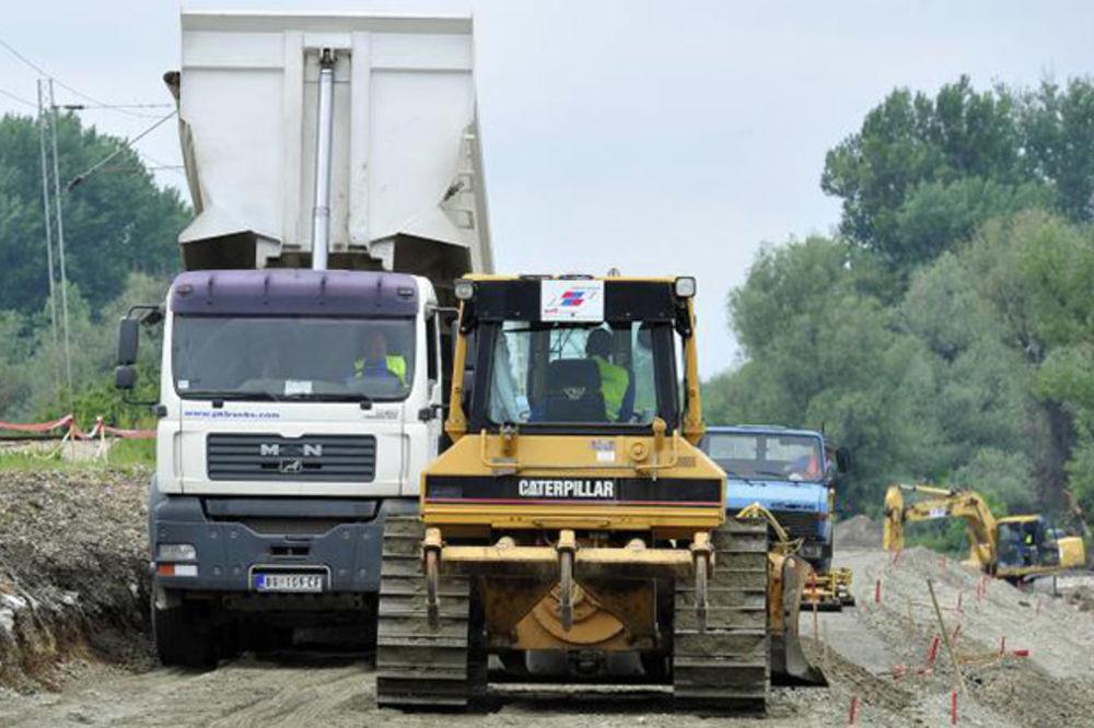 Gradnja drugog koloseka Beograd-Pančevo brža od plana