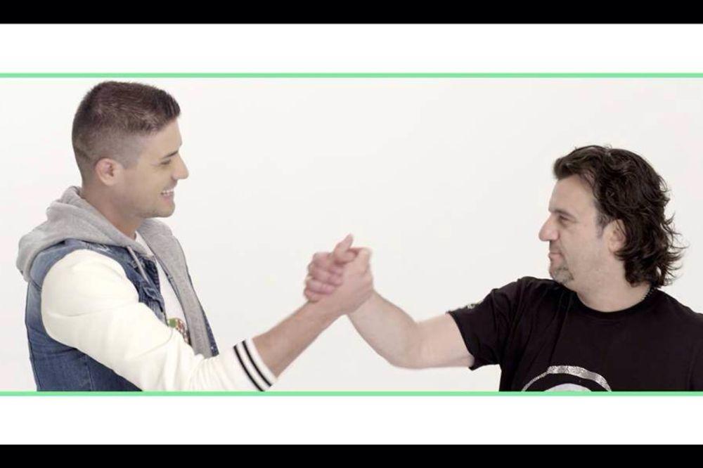 DRUGARSKA POSLA: MC Stojan ugostio Lukasa u spotu
