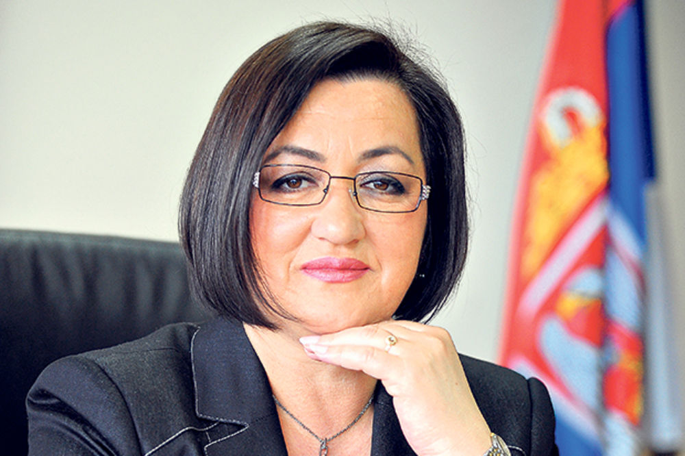 Snežana Bogosavljević Bošković, Lazar Krstić, ministarka poljoprivrede, Vlada Sr