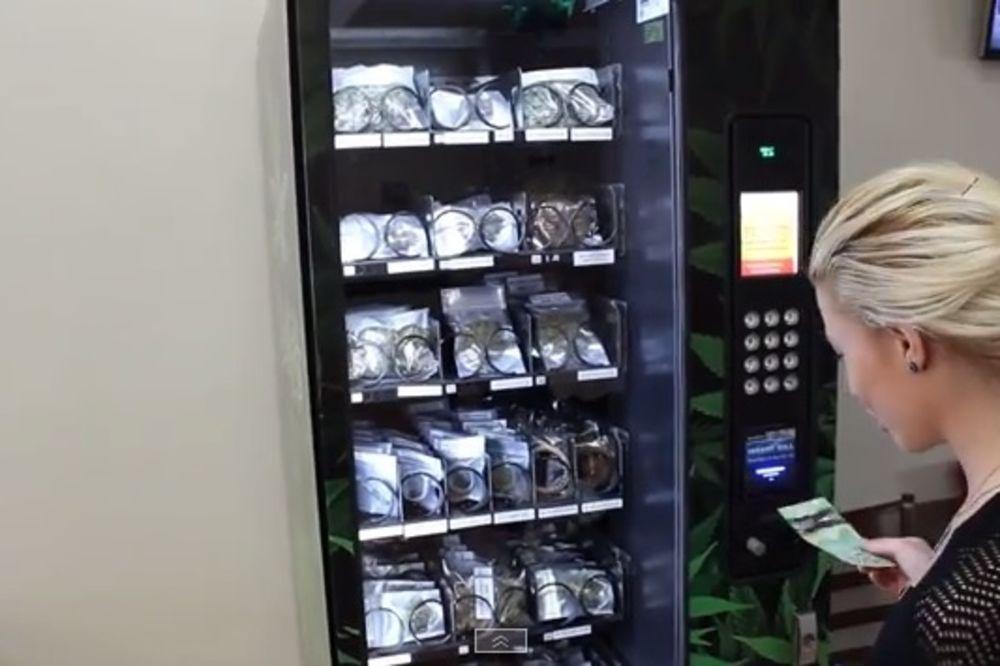 Kanada, marihuana, automat za prodaju marihuane, foto printscreen yt