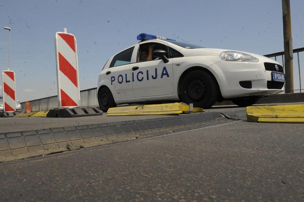 PREGLEDAN MOST: Lažna dojava o bombi na Pačevcu