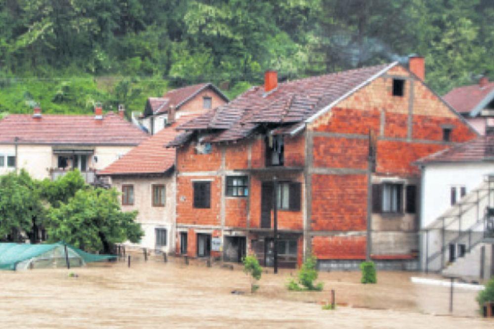 Prva žrtva poplava u Valjevu