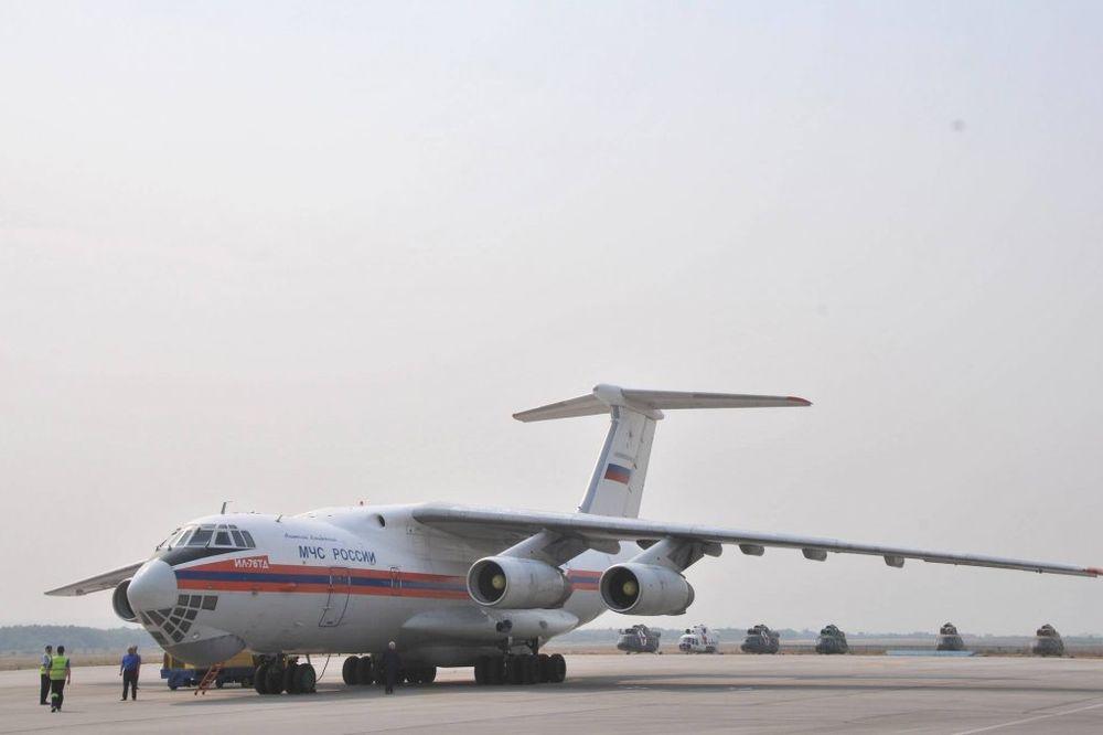 Iz Rusije stiglo još 90 tona humanitarne pomoći za poplavljene