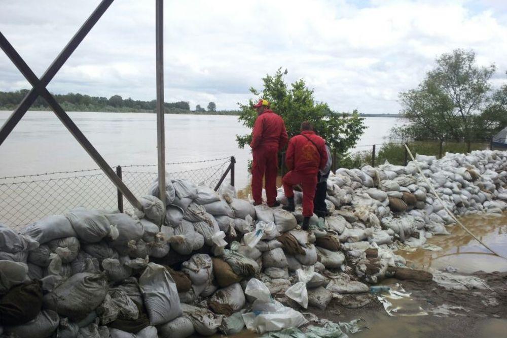 PRETI: Sava u Šapcu dostiže nivo odbrane od poplava