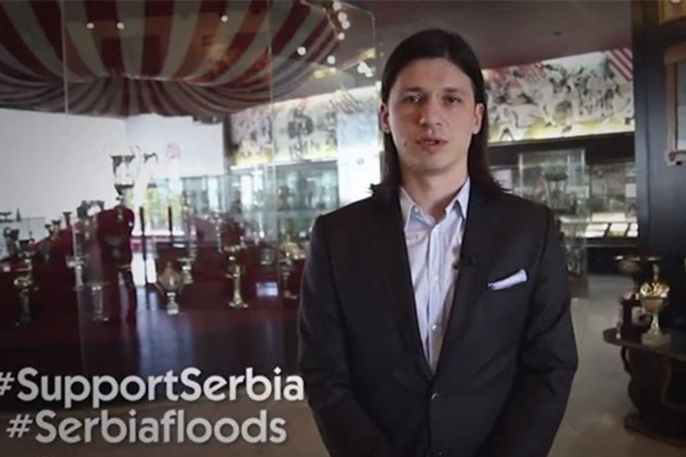 APEL ZA POMOĆ: Marko Pantelić se obratio navijačima Ajaksa, Herte i Olimpijakosa