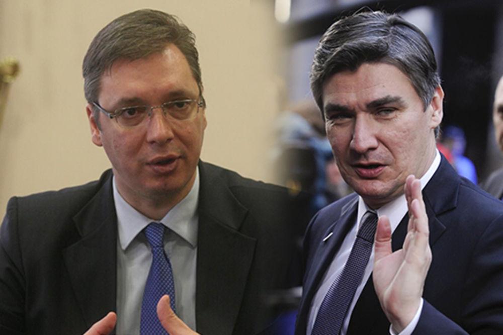 VUČIĆ SMIRUJE TENZIJE: Nazvaću Milanovića, nećemo vraćati ambasadora iz Hrvatske!