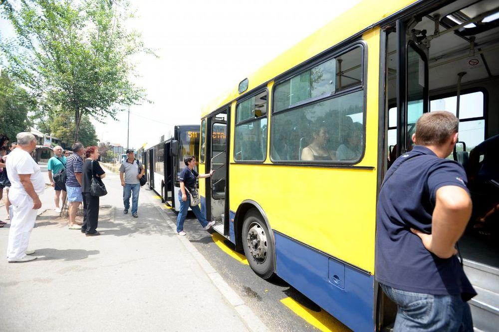 BUS PLUS STEŽE OBRUČ: Od ponedeljka tročlane patrole GSP kontrolišu putnike!