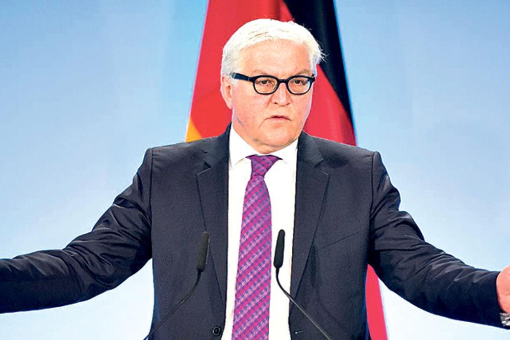 Štajnmajer: Nemačka podržava evropsku perspektivu Zapadnog Balkana