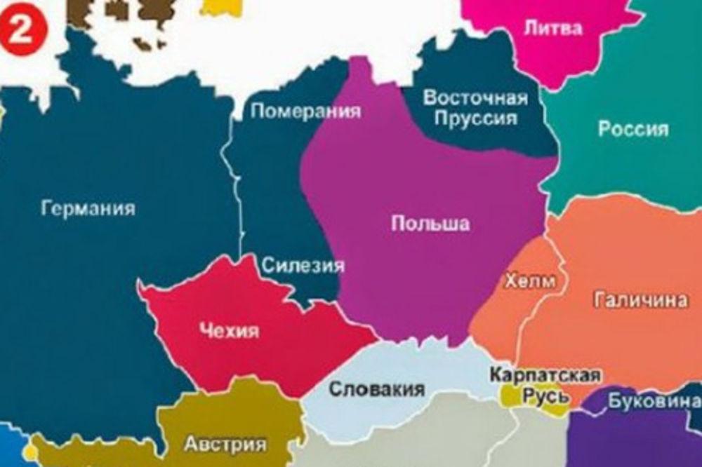 karta evrope 2030 OSTVARUJE SE PUTINOVA KARTA EVROPE: Evo kako ruski predsednik vidi  karta evrope 2030