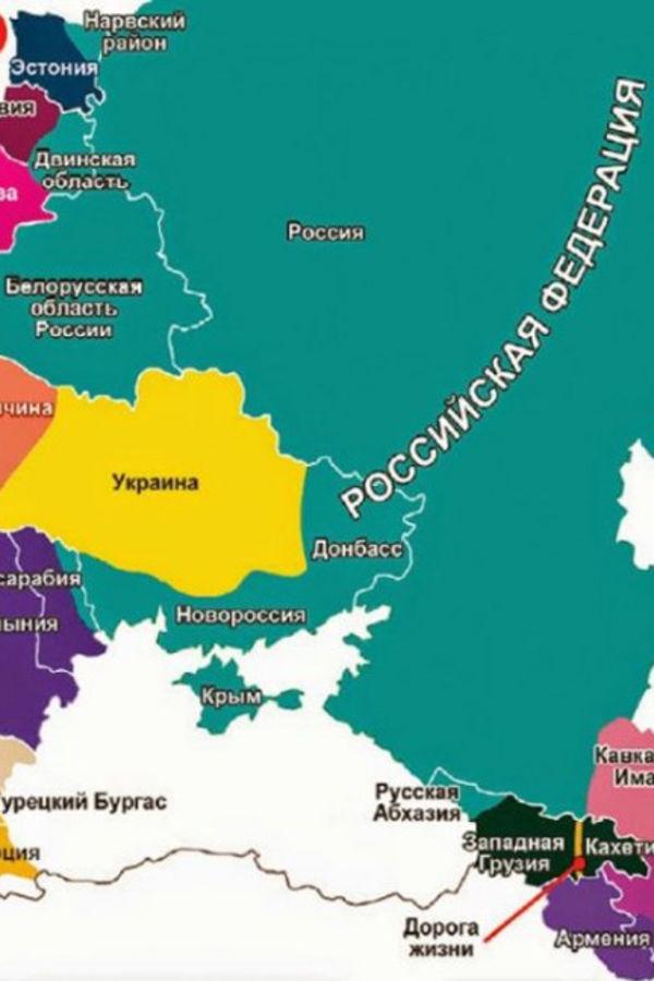 Ostvaruje Se Putinova Karta Evrope Evo Kako Ruski Predsednik Vidi