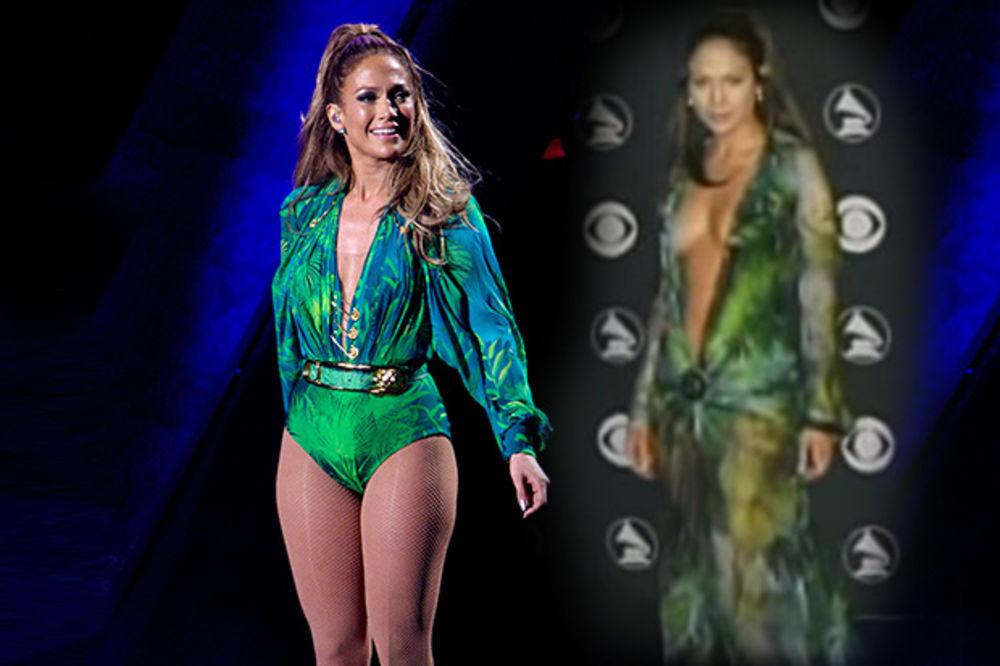 KO U STARA DOBRA VREMENA: Džej Lo ušla u haljinu od pre 14 godina!