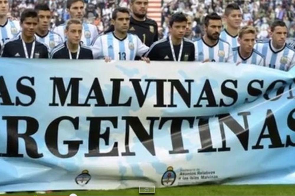 DA LI ĆE FIFA BITI PRAVIČNA: Argentinci pre meča poslali političku poruku