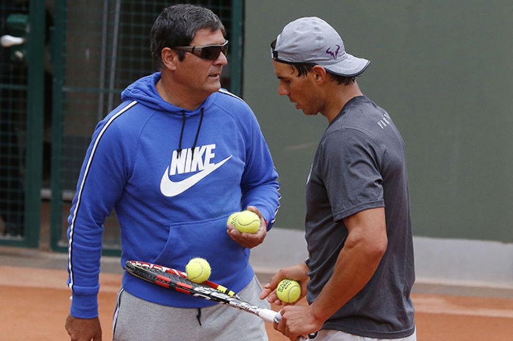 TONI NADAL: Nisam ljubomoran na Novaka i Federera, ali je Rafa fizički osetljiviji od njih