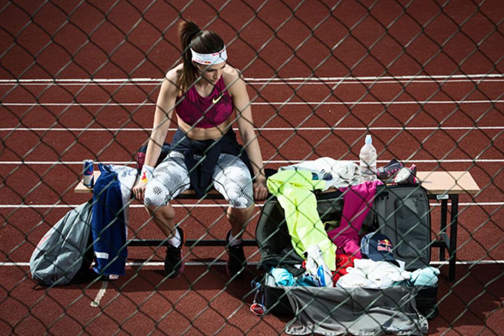 (FOTO) SLOMLJENA: Evo kako izgleda Ivana Španović posle žestokog treninga