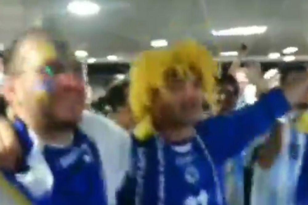 LUDILO: Dva Bosanca prozivaju Argentince na Marakani