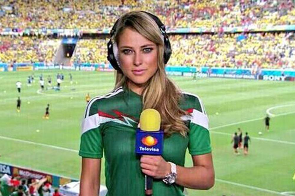 (FOTO) ZABORAVIO IRINU: Ronaldo smuvao najlepšu novinarku na svetu