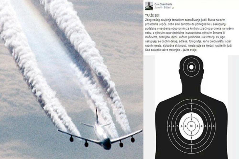 LUDILO U ZAGREBU: Kontrolore leta i pilote optužili da kriju zaprašivanje, u toku lov i na porodice!