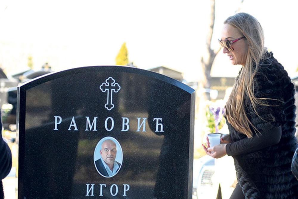 NEPOŽELJNA: Gogi svekrva zabranila da prisustvuje Igorovom pomenu!