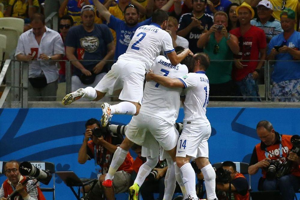 SAMARAS ZA NOVO ČUDO: Grci u osmini finala Mundijala