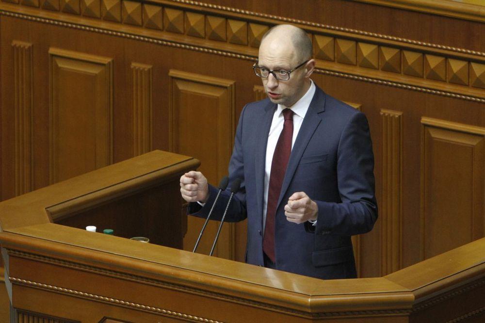 ARSENIJ JACENJUK: Vlada Ukrajine hoće u NATO