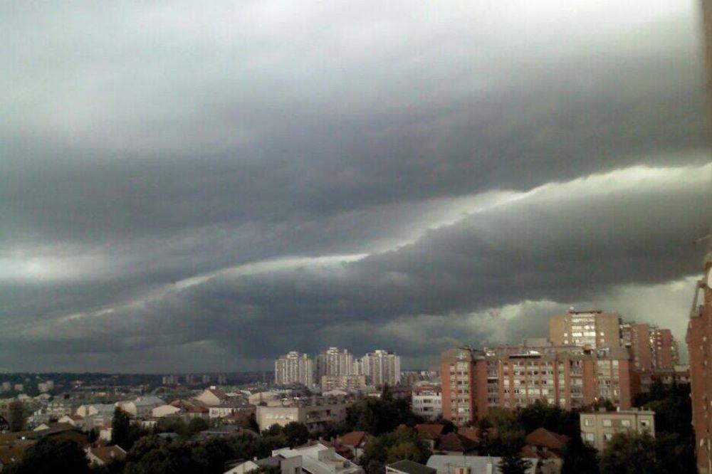 U ponedeljak promenljivo oblačno, temperatura do 30 stepeni, uveče kiša