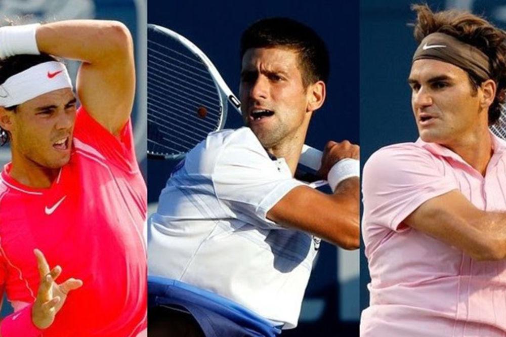 ŠVAJCARAC PREDNJAČI U FER-PLEJU: Federera teniseri više vole od Novaka i Rafe