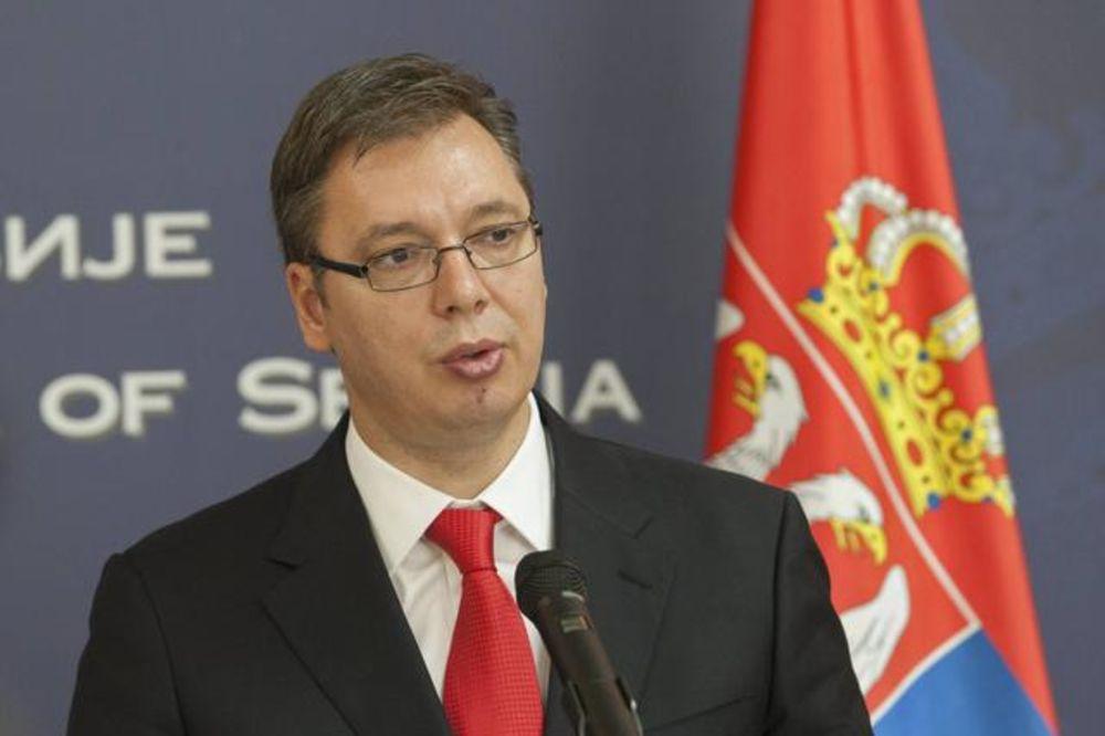 ZEMUN: Vučić na otvaranju poštanskog centra Beograd