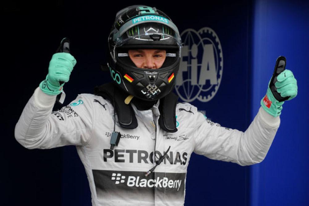 VIŠEGODIŠNJA VERNOST: Rozberg produžio ugovor sa Mercedesom