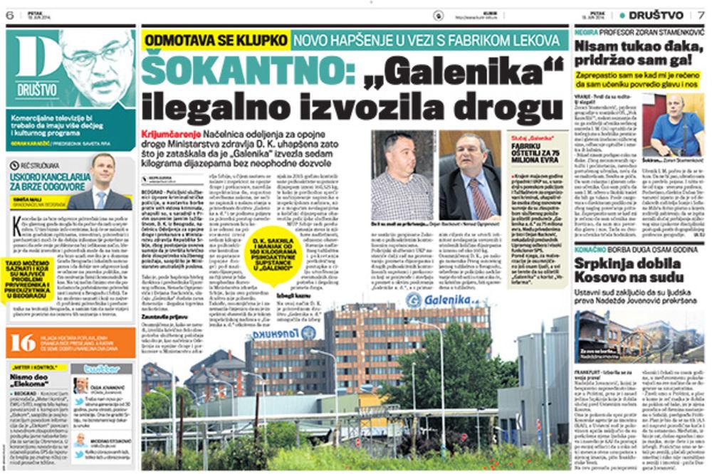 Nestalo 160 kg lekova: Tužilaštvo ispituje šverc dijazepama