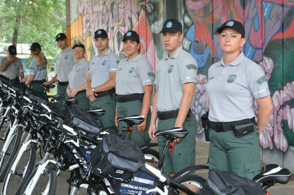 NOVI SAD: Komunalna policija dobila bicikle i letnje uniforme!